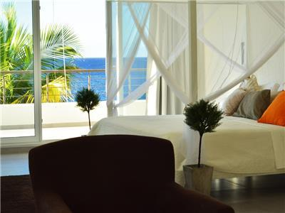 Panoramic ocean view from top floor Master bedroom