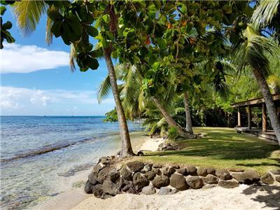 Fare Upu, beach front cottage - Moorea