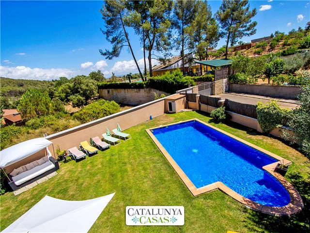 Catalunya Casas: Five-bedroom villa in Can Vinyals, in the hills between Barcelona and Girona