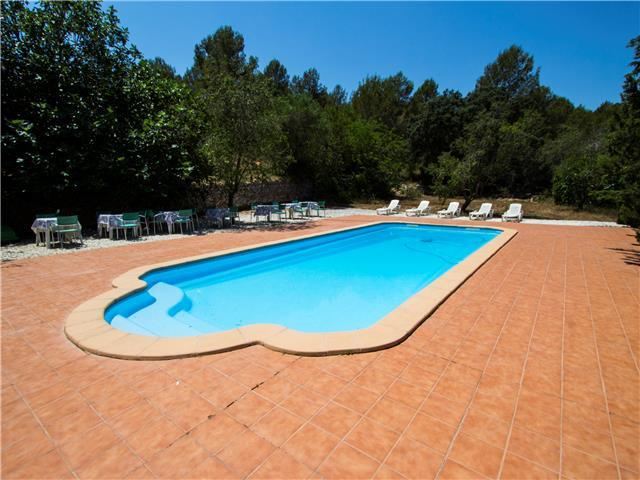 Villa Ardenya for groups of 20 in the hills of Tarragona, only 10km to the beach!
