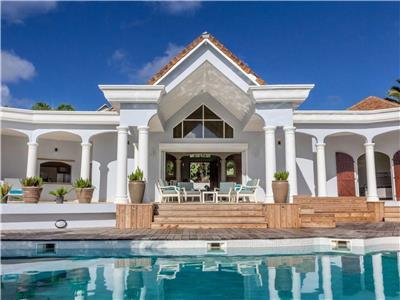 Beautiful Caribbean home walking distance of St. Martin's famous and beautiful Orient Beach