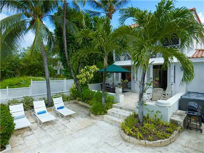 Beachfront colonial style 3 bedroom villa Barbados