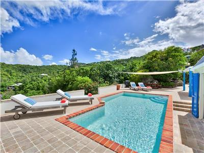 2-bedroom villa nestled on St. Barths Hillside