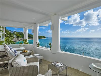 Beachfront Villa in St. james