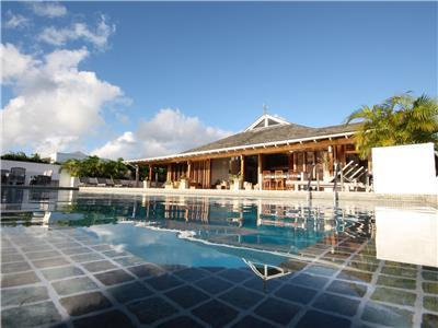 This Villa overlooks the stunning West coast of Barbados