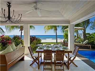 Impeccable beachfront villa with incredible views