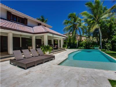 Wonderful villa for a dream vacation in the luxurious Punta Cana Resort