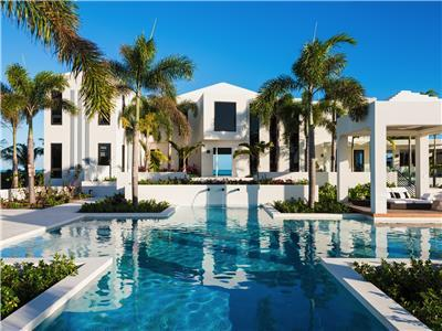 Luxurious 7 bedroom beach villa on Long Bay Beach