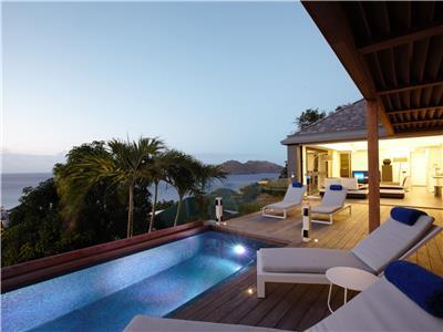 Relaxing oasis in Flamands with views of St. Martin and Anguilla