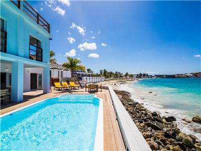 Beach Estate on St Maarten Directly on Burgeaux Bay Beach