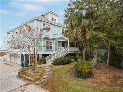 Heavenly Blue - EPIC SUNSETS - Amazing Folly Beach River Front Vacation Home - Easy Walk to the Beac