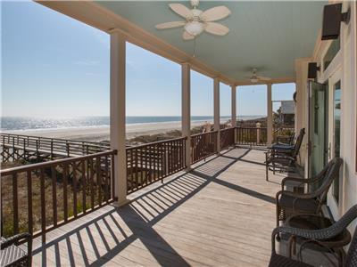 Blue Waters Beachfront 5 BR private beach access