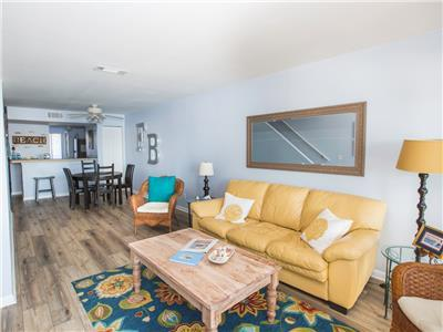 The Southern Harmony - Awesome Condo on the Folly River - Easy Walk to Center St