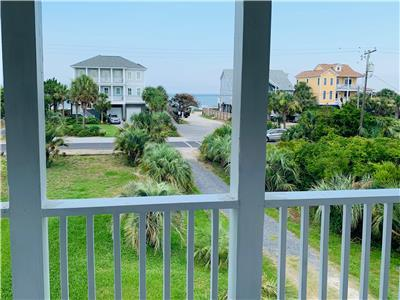 Folly Beach Vacation Rental - Marsh Mellow - 5BR/4BA 2nd row home with breathtaking views!