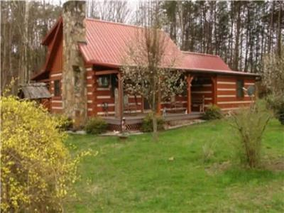 Cozy Country Cabin NEW: Hot Tub & Outdoor Shower!! (no added cleaning fees)