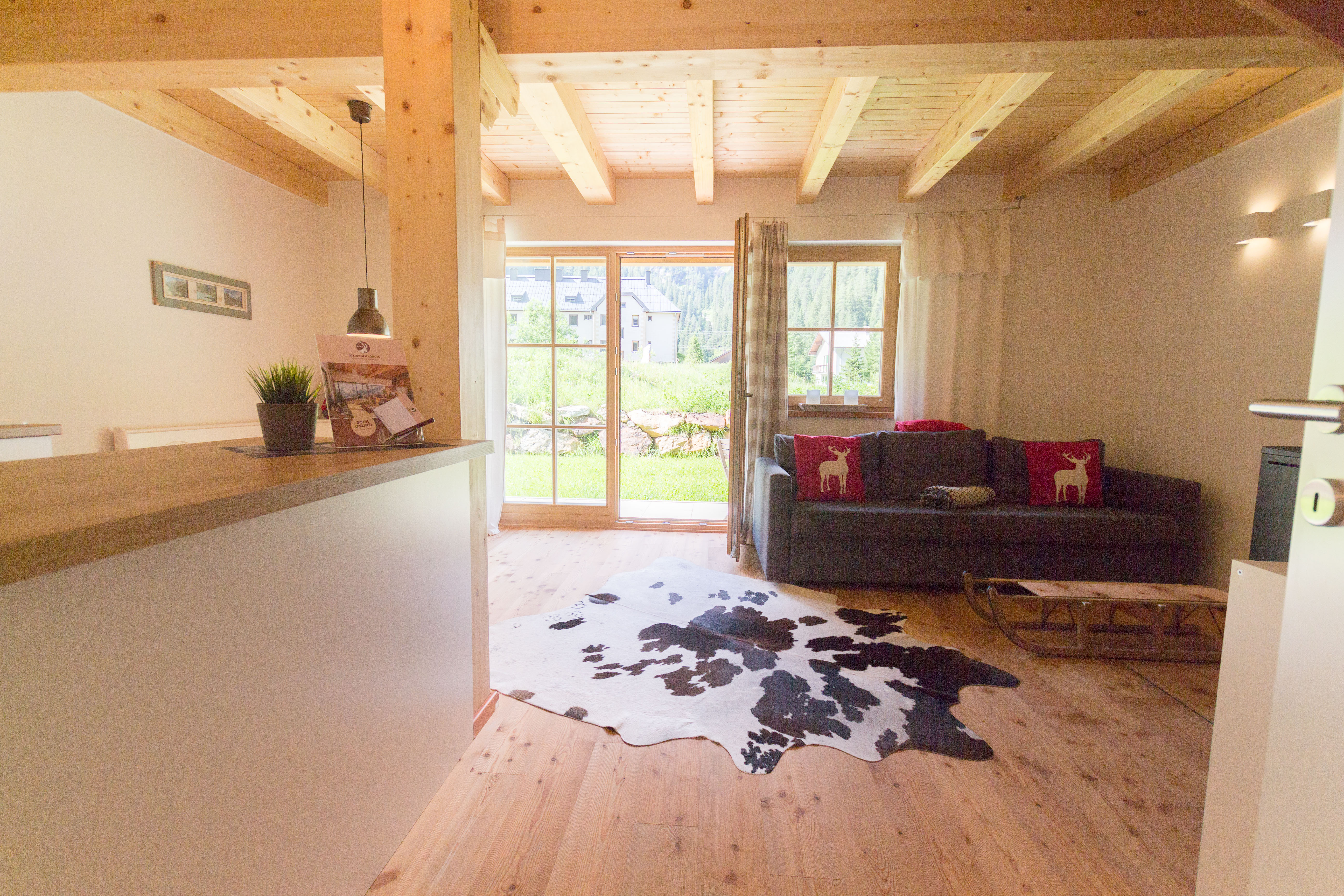 Maison de vacances Lodge Enzian direkt am Skilift (2050396), Uttendorf, Pinzgau, Salzbourg, Autriche, image 4