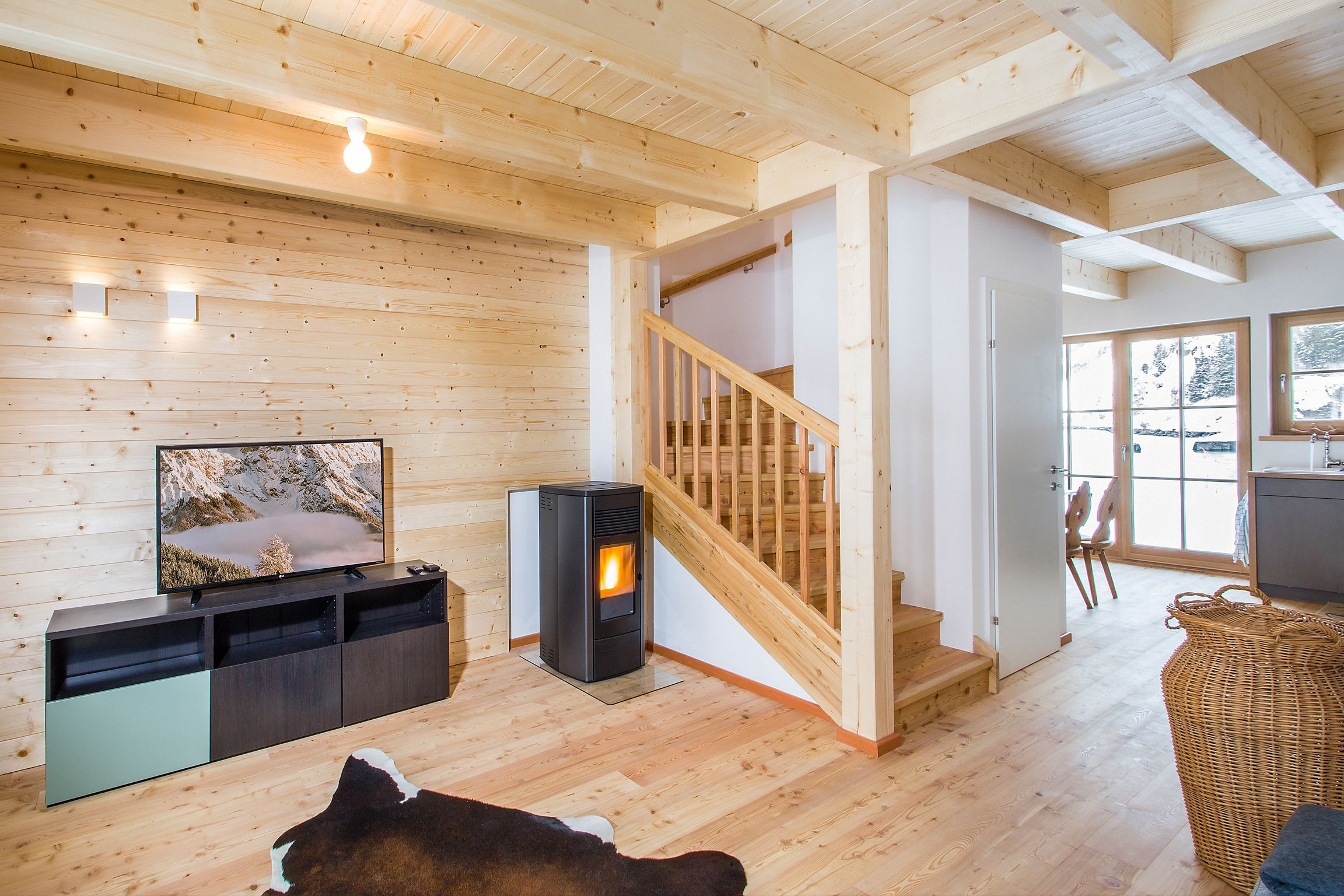 Maison de vacances Lodge Wildrose, direkt am Skilift für 6-8 (2050392), Uttendorf, Pinzgau, Salzbourg, Autriche, image 34