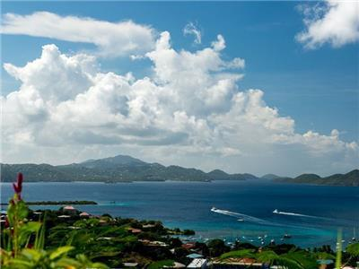 Large, Panoramic Views of St. Thomas and Beyond