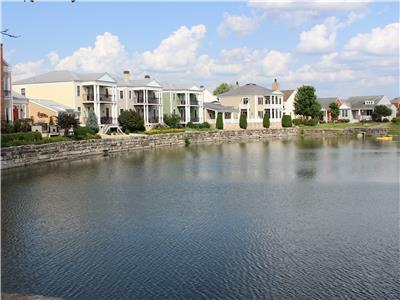 Modern Condo in the Heart of New Town, St. Charles I JZ Vacation Rentals