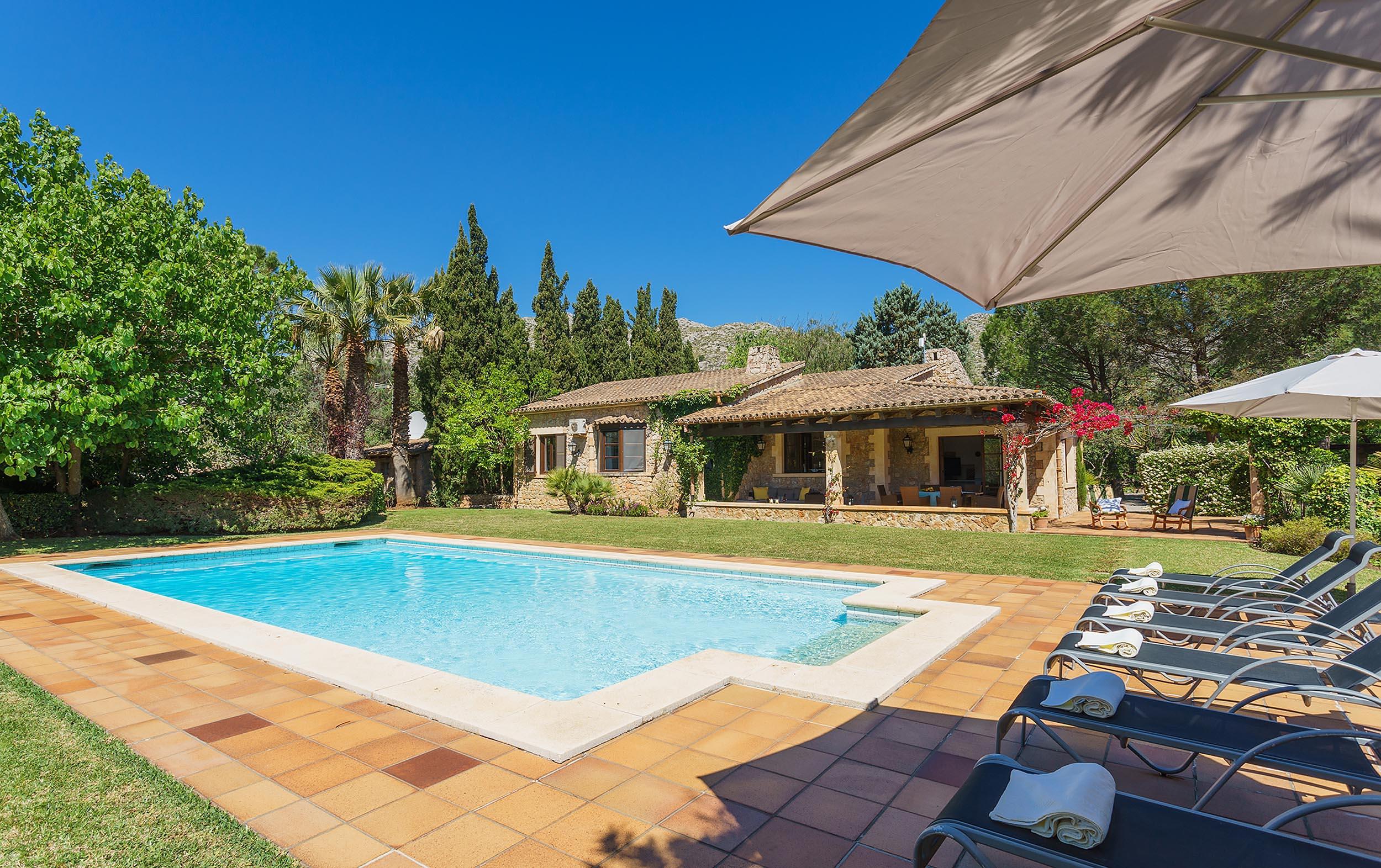 Nirvana Is A Holiday Villa In Pollensa Mallorca Spain