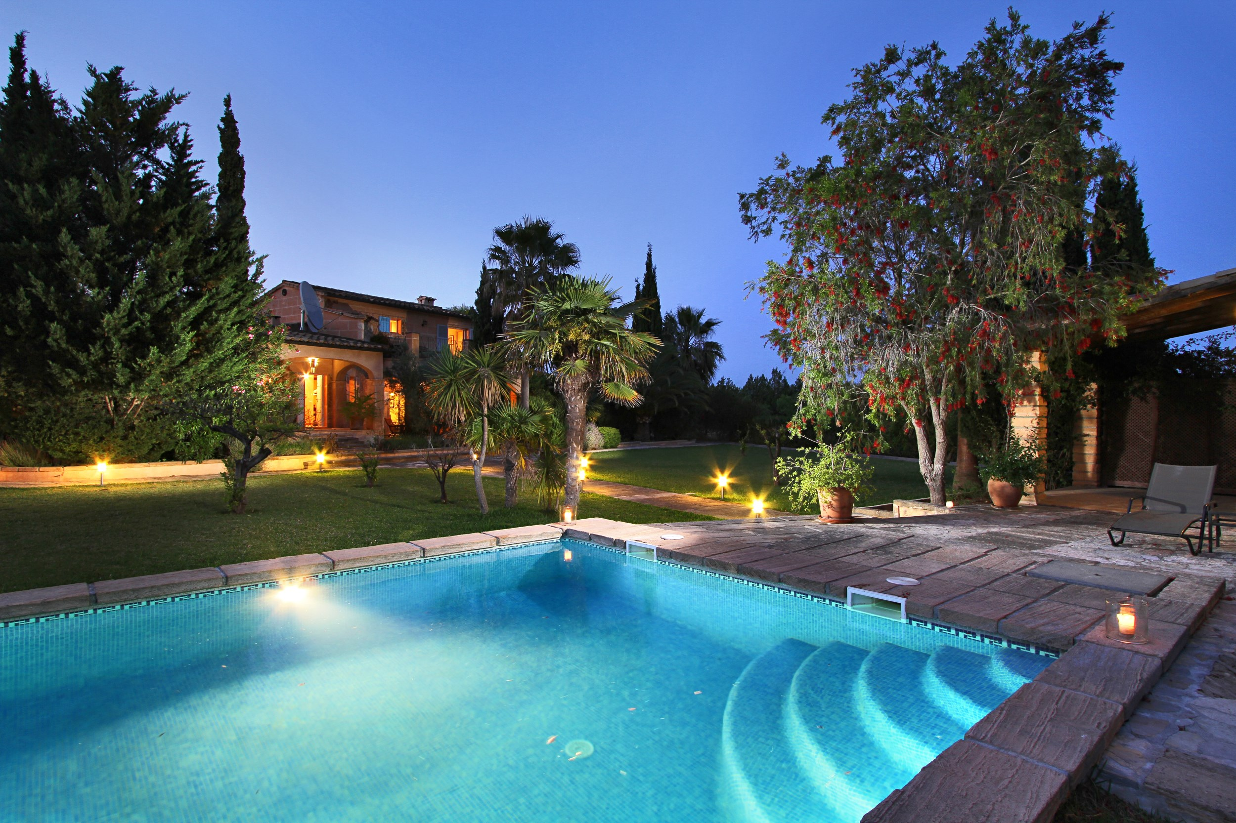 Can Finassi Is A Holiday Villa In Selva Mallorca Spain