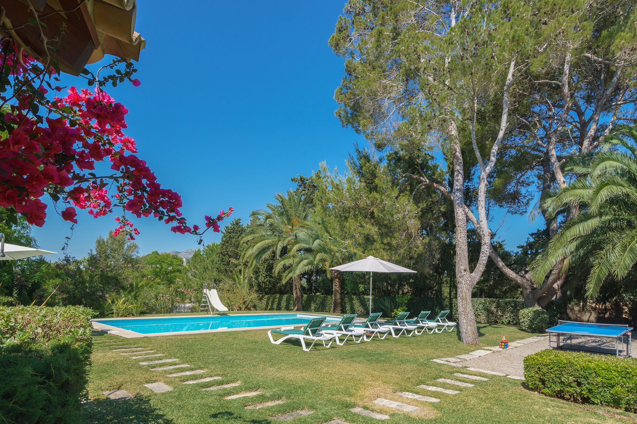 Heaven Is A Holiday Villa In Pollensa Mallorca Spain