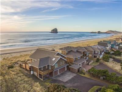 Top O' the Dune #157 - Luxury oceanfront home. Amazing views & fun party room. 4000 square feet.