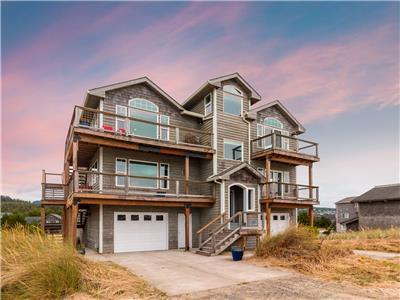 The Whaler #122 - Gorgeous views, 4 bedroom home across from beach