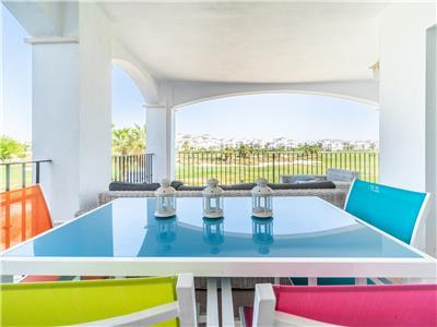 Apartment with Large Terrace and Golf Views- La Torre Golf Resort - MURCIA VACATIONS RA1112
