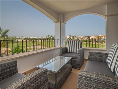 Spacious Apartment with Large Terrace Overlooking the Golf course- MURCIA VACATIONS - MO2823lt