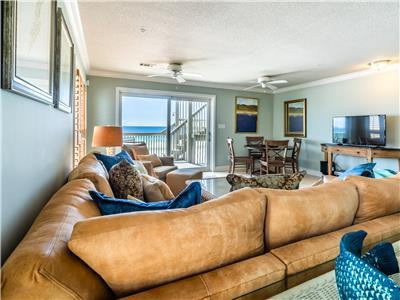 BEACHFRONT⭐3 Balconies⭐Updated⭐Sleeps 10⭐2X Sanitized⭐4BR Sunchase Townhouse #1