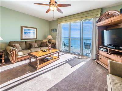 Gulf Front for 6☀BeachFront Pool☀7th Flr Views☀Inspected&Disinfected☀Celadon 703
