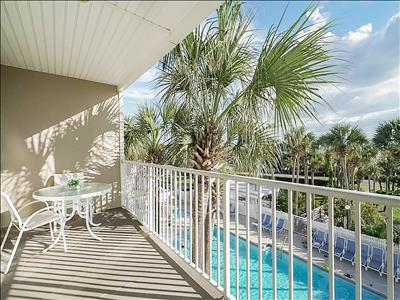 ☀Gulf Place Caribbean 309☀1BR+Bunks on 30A☀Book 4 Spring! Hot Tub+3 Pools+Tennis