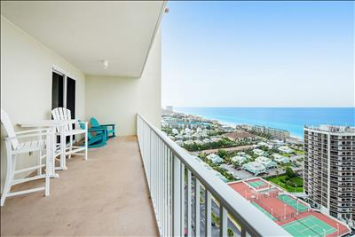 Updated⭐Gulf Views⭐Balcony⭐2 Pools + Hot Tub⭐2X Sanitized⭐2BR Ariel Dunes I 2207