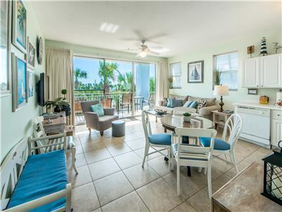 Jan-Feb $1300/mo-Pools☀️2Step Sanitizing Process☀️1BR+Bks-Gulf Place Cabanas 311