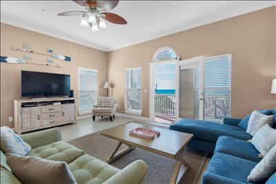 Winter from $73/Nt☼GulfVIEWS☼Pet Friendly☼2 Step Sanitizing ☼3BR Villasea 302