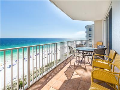 Gulf Views☀In/Outdoor Pools☀️2 Step Sanitizing Process☀️3BR Majestic Sun 1014B