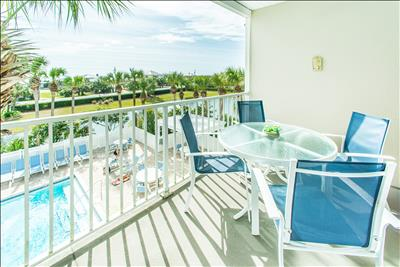 Pool Views☀️Across Beach☀️3 Pools ☀️2X Disinfected☀️Gulf Place Caribbean 309