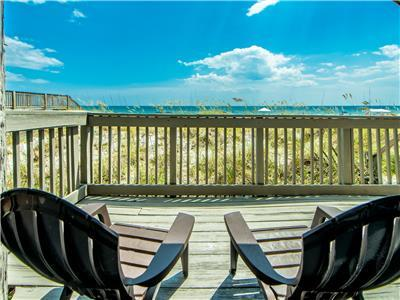 BEACHFRONT☀3 Decks-Updated☀️Inspected & Disinfected☀️4BR Sunchase Townhouse #1