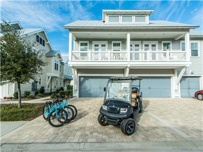30A's Endless Summer! Includes Golf Cart and Bikes