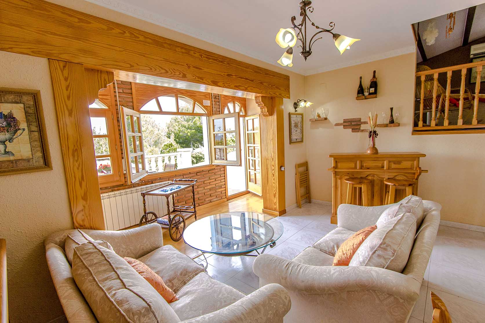 Ferienhaus Catalunya Casas: Lovely villa in Castellet, only 10 min to Costa Dorada beaches! (1890850), Castellet i la Gornal, Costa del Garraf, Katalonien, Spanien, Bild 13