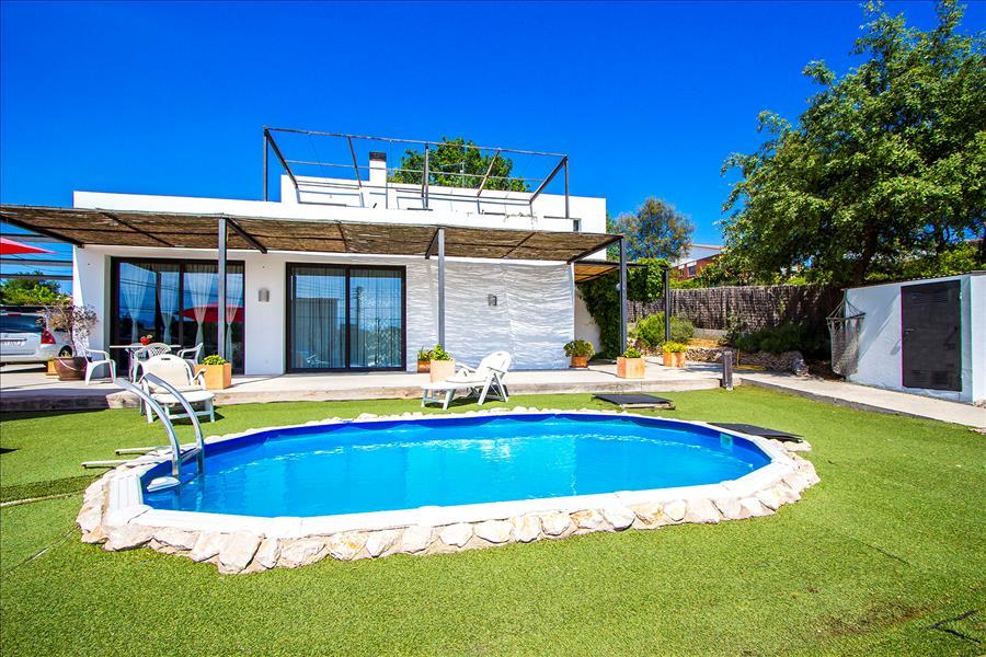 Ferienhaus Catalunya Casas: Serene villa in Sils, 20 km to Costa Brava beaches! (1890922), Les Mallorquines, Girona, Katalonien, Spanien, Bild 5