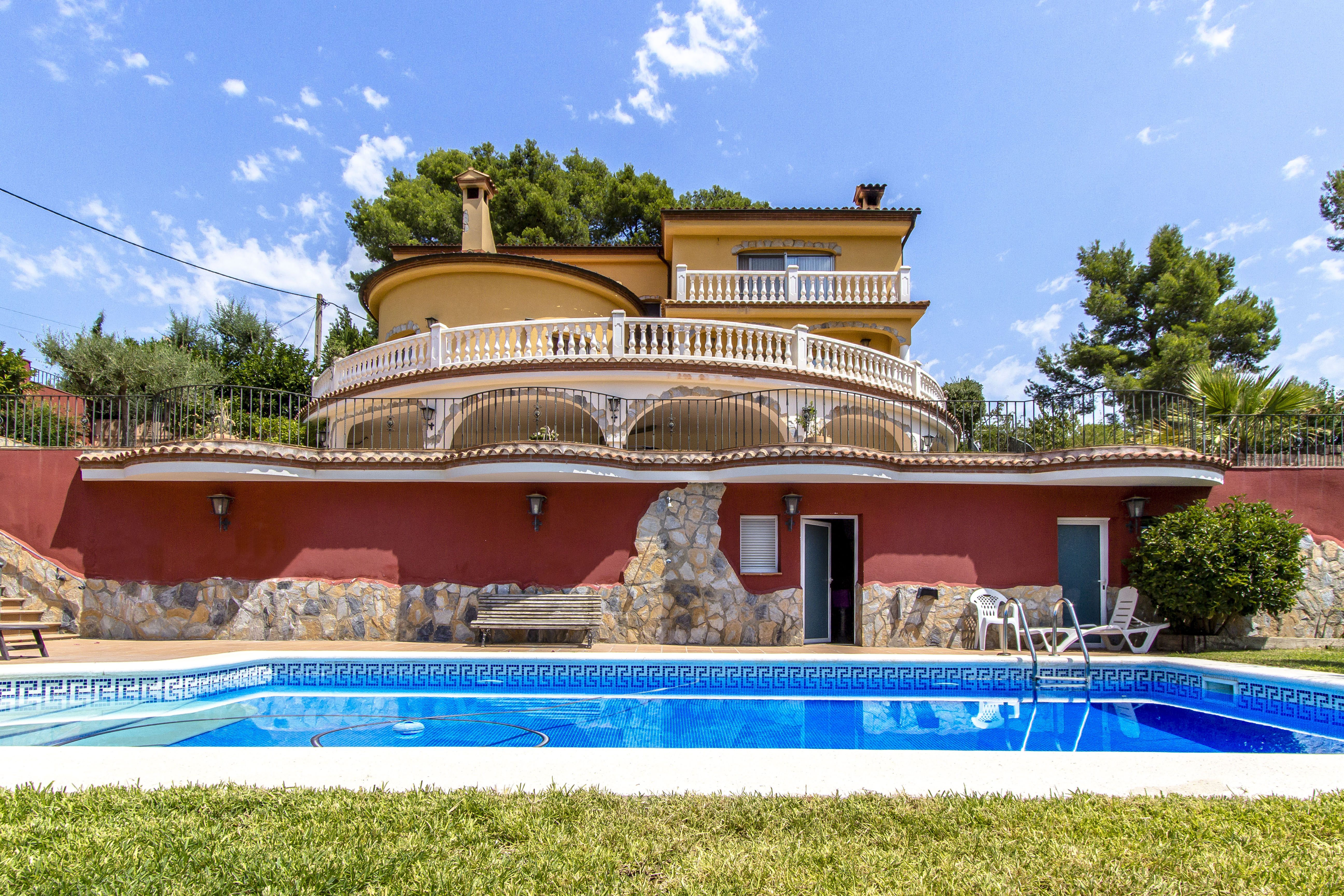 Ferienhaus Catalunya Casas: Fantastic villa in Torrelles, just 15 km from Barcelona! (1890843), Can Guey, Costa del Garraf, Katalonien, Spanien, Bild 9