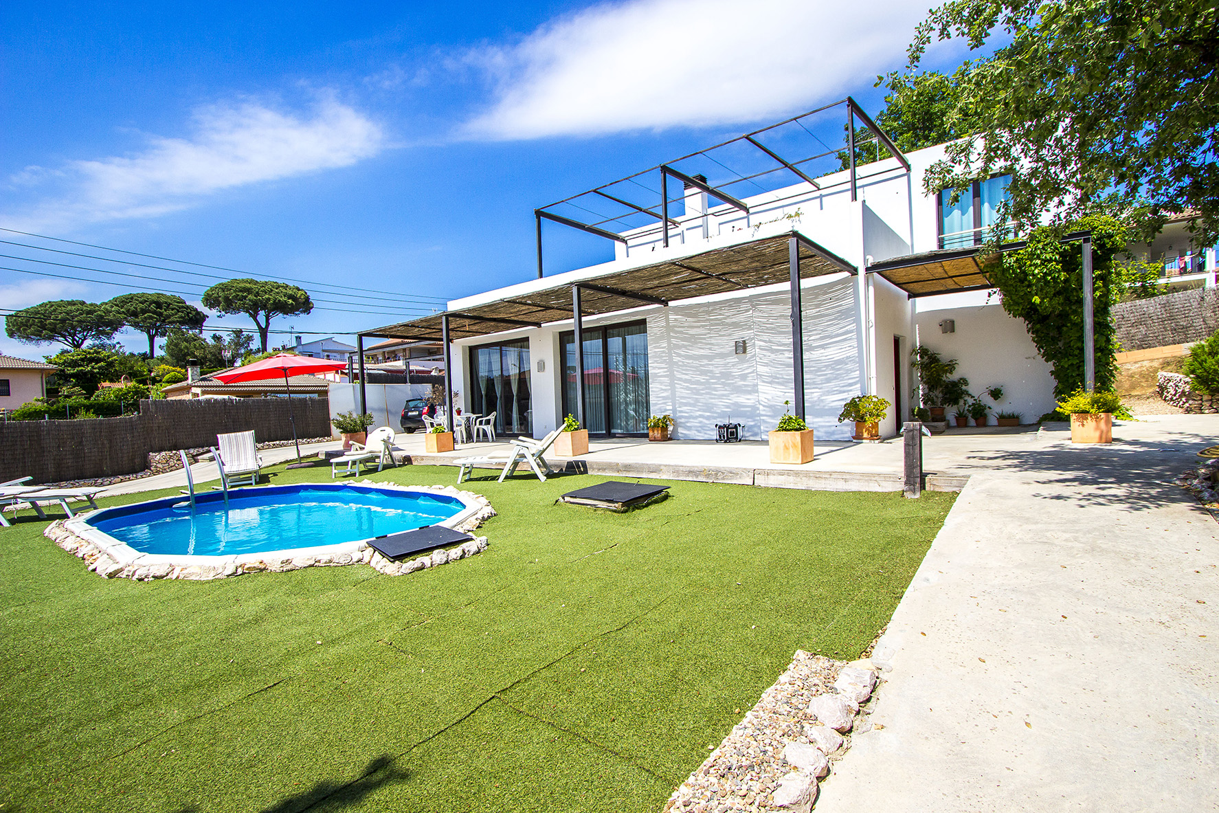 Ferienhaus Catalunya Casas: Serene villa in Sils, 20 km to Costa Brava beaches! (1890922), Les Mallorquines, Girona, Katalonien, Spanien, Bild 1