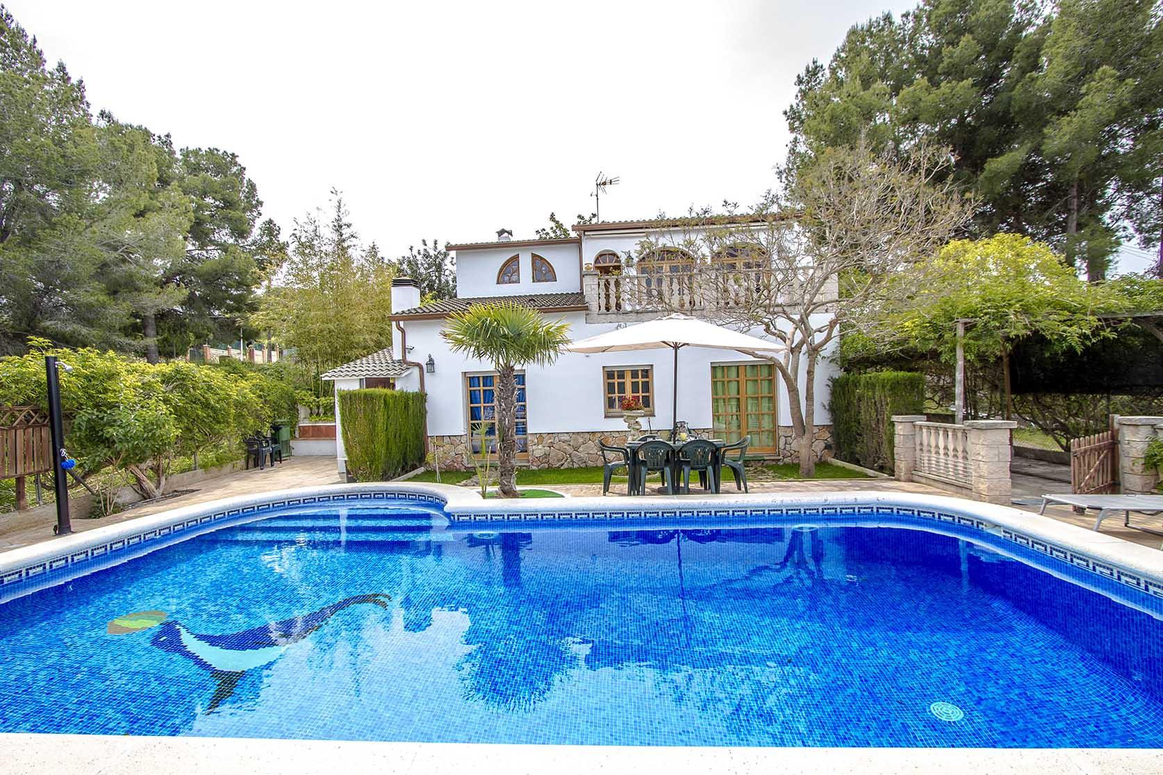 Ferienhaus Catalunya Casas: Lovely villa in Castellet, only 10 min to Costa Dorada beaches! (1890850), Castellet i la Gornal, Costa del Garraf, Katalonien, Spanien, Bild 3