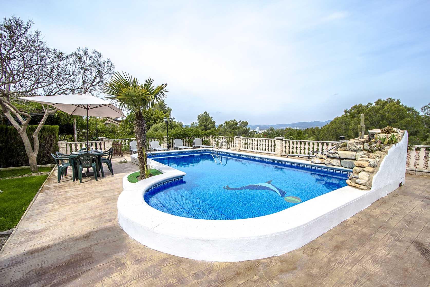 Ferienhaus Catalunya Casas: Lovely villa in Castellet, only 10 min to Costa Dorada beaches! (1890850), Castellet i la Gornal, Costa del Garraf, Katalonien, Spanien, Bild 4
