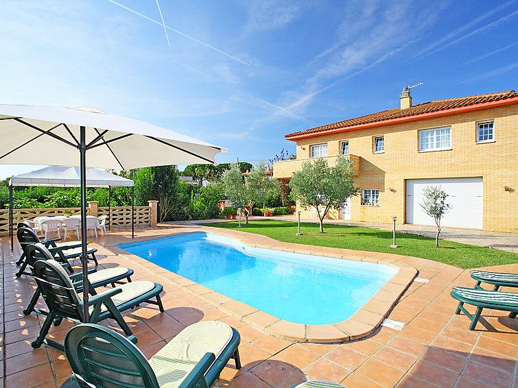 Ferienhaus Catalunya Casas: Incredible Villa in Sils, a short drive to Costa Brava beaches! (1890893), Les Mallorquines, Girona, Katalonien, Spanien, Bild 1