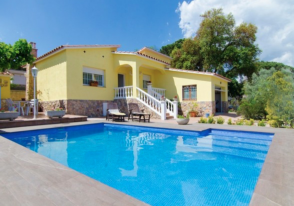 Ferienhaus Catalunya Casas: Peaceful Villa Sils, just 20 km from Costa Brava beaches! (2302155), Les Mallorquines, Girona, Katalonien, Spanien, Bild 27