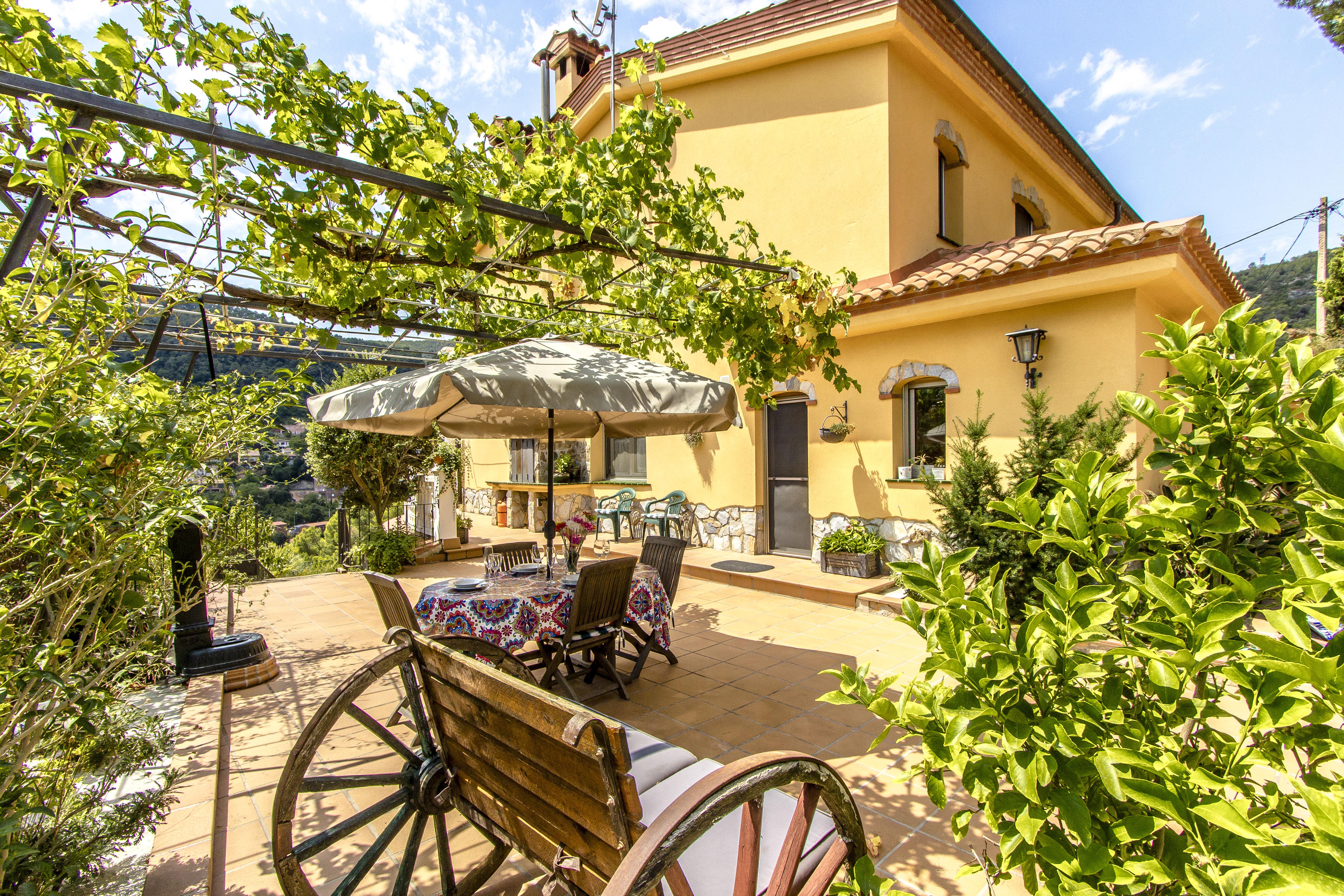 Ferienhaus Catalunya Casas: Fantastic villa in Torrelles, just 15 km from Barcelona! (1890843), Can Guey, Costa del Garraf, Katalonien, Spanien, Bild 7