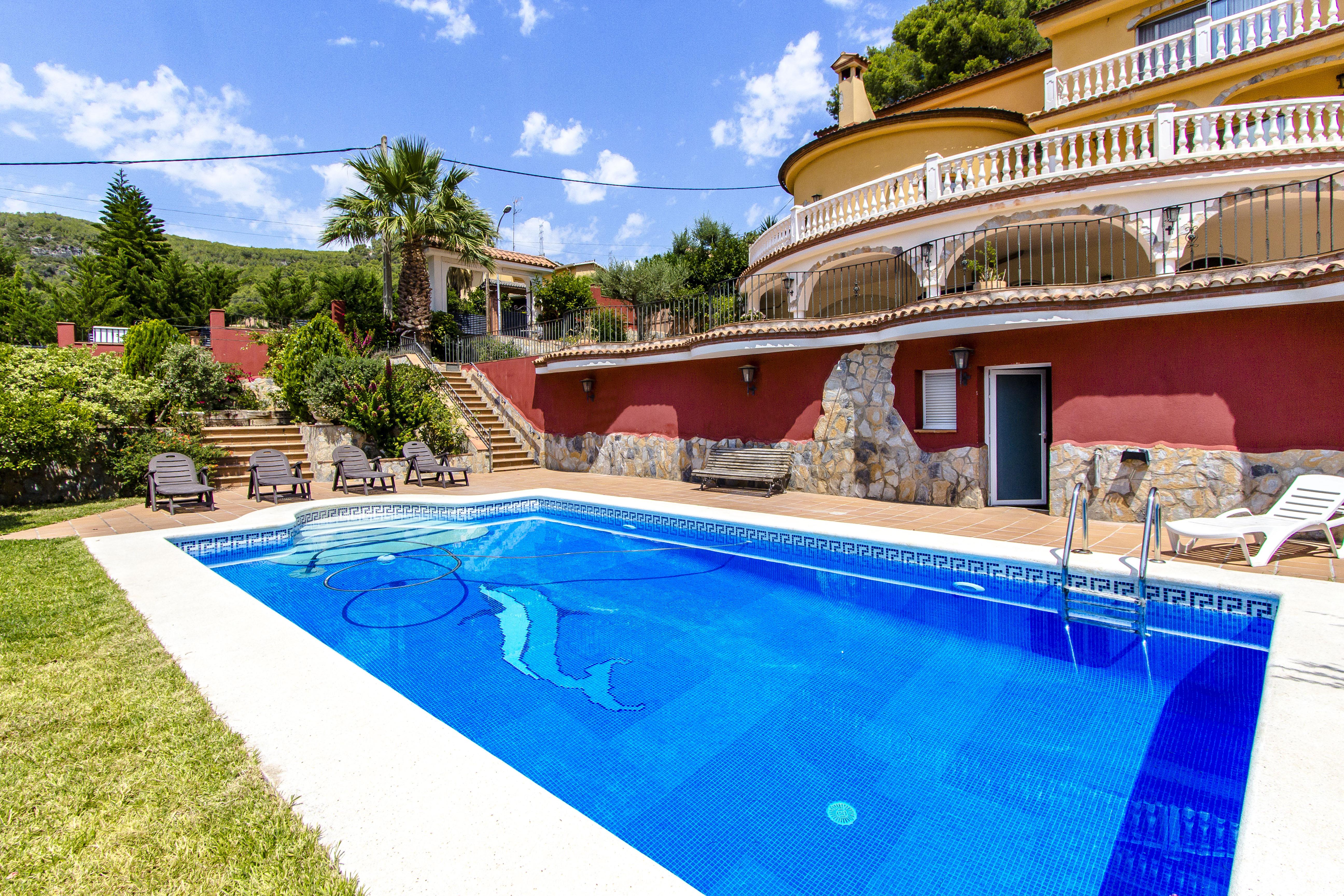 Ferienhaus Catalunya Casas: Fantastic villa in Torrelles, just 15 km from Barcelona! (1890843), Can Guey, Costa del Garraf, Katalonien, Spanien, Bild 2